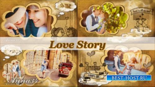 Проект для ProShow Producer - Любовная история