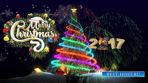Веселое рождество 2017 - Футаж
