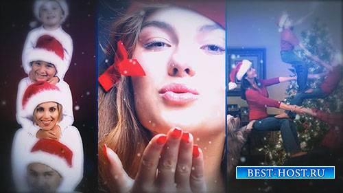 Динамические Рождественские Фотографии - After Effects Templates