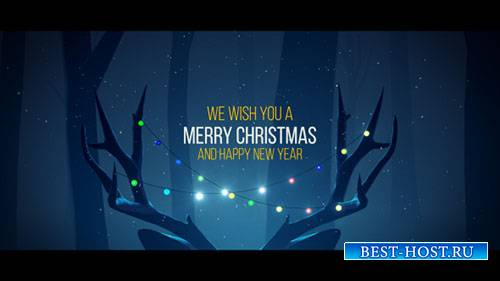Christmas Deer - Project for After Effects (Videohive)