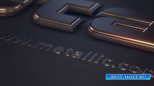 Металлический Текст - Project for After Effects & Cinema 4D (Videohive)