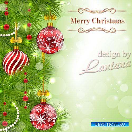 PSD исходник - Новый год нам дарит волшебство 29