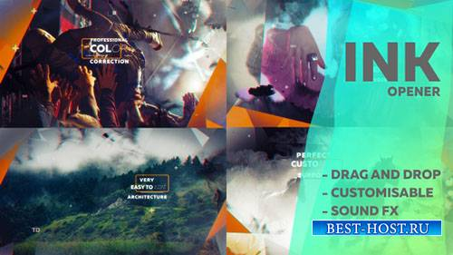 Чернила вступление 18085705 - Project for After Effects (Videohive)