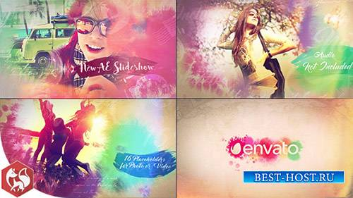 Акварель Слайдшоу 17733386 - Project for After Effects (Videohive)