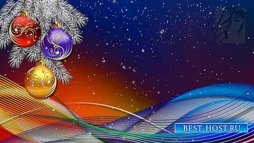 Красивые новогодние футажи - часть 8