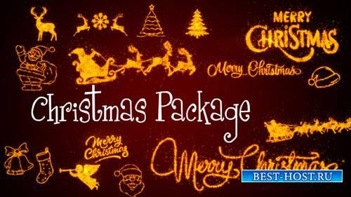 Рождественский Пакет - Motion Graphic (Videohive)