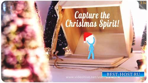 Захватить дух Рождества | Рождественская открытка анимация - Project for Af ...