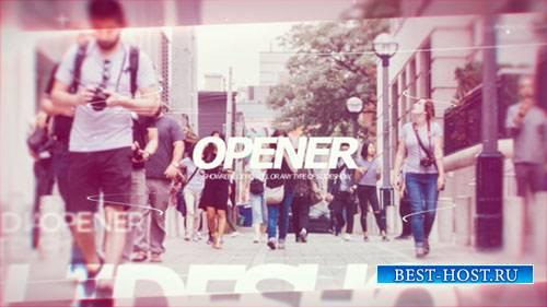 Современная Открывалка PRX - Project for After Effects (Videohive)