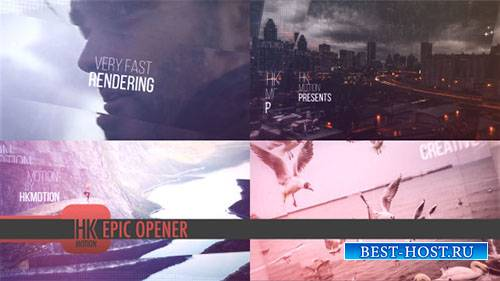 Эпические Открывалка 19161016 - Project for After Effects (Videohive)
