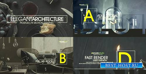 Элегантная Архитектура Промо - Project for After Effects (Videohive)