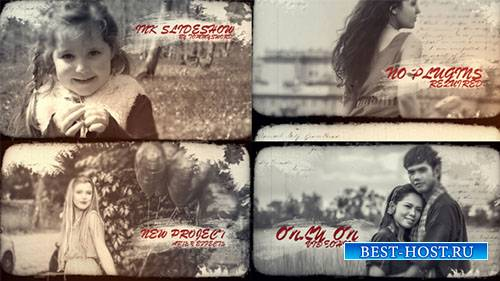 Слайдшоу Чернил 19245273 - Project for After Effects (Videohive)