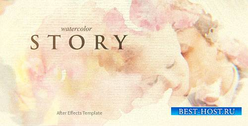 Акварельная История - Project for After Effects (Videohive)