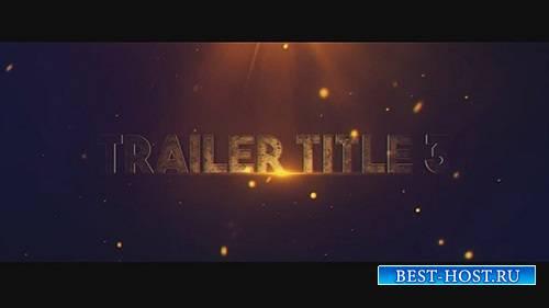 Трейлер Название 3 - After Effects Шаблоны