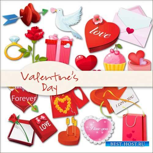 Романтический скрап-набор - День Валентина