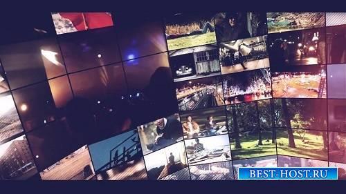 Современные видео слайды - After Effects Шаблоны