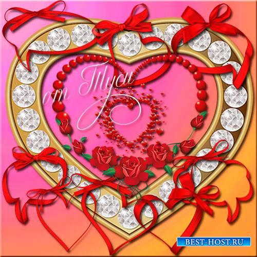 Рамки-вырезы - Сердечки /  notches - Hearts