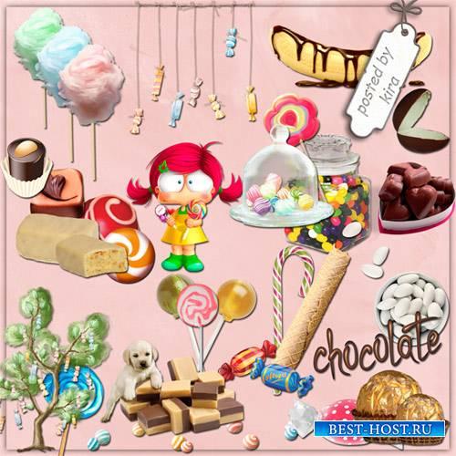 Клипарт - Сладости и конфеты в png