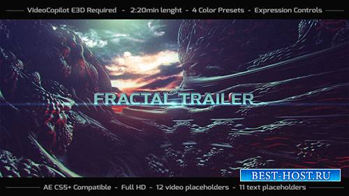 Фрактал Трейлер - Project for After Effects (Videohive)