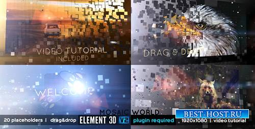 Мозаика Мира - Project for After Effects (Videohive)