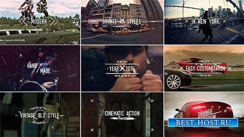 Гранж Старинные Названия Слайдшоу - Project for After Effects (Videohive)