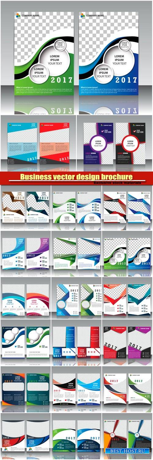 Business vector design brochure, flyer vector template, card creative desig ...