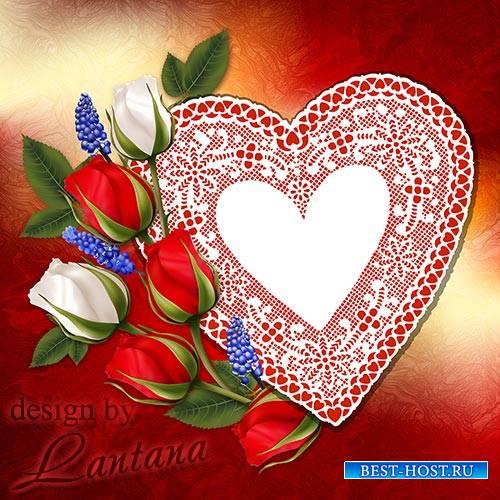 Psd исходник - День Святого Валентина 8