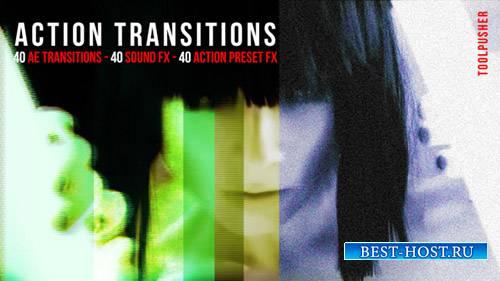 Переходы Действия Пакета - After Effects Presets (Videohive)
