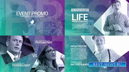 Мероприятие Промо 18930552 - Project for After Effects (Videohive)
