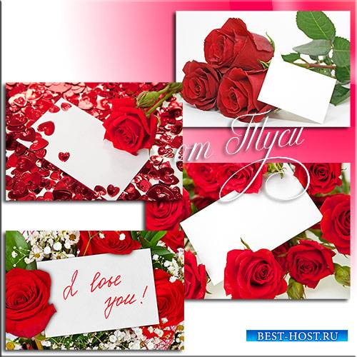 Дыхание роз - Клипарт / Breath of roses - Clipart