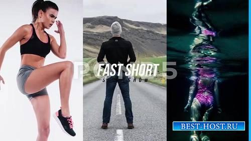 Быстрый Короткий слайд-шоу - After Effects Шаблоны