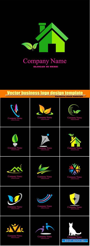 Vector business logo design template