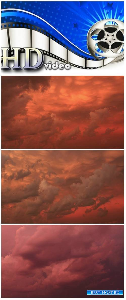 Video footage Beautiful Clouds