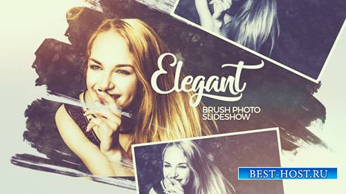 Элегантные Кисти Фото Слайд-Шоу - Project for After Effects (Videohive)
