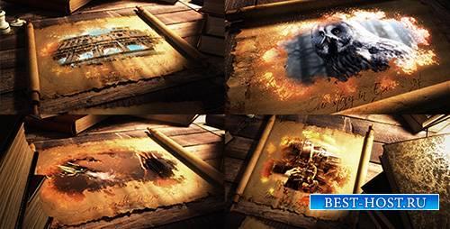 Эпический Пергаментный Свиток - Project for After Effects (Videohive)
