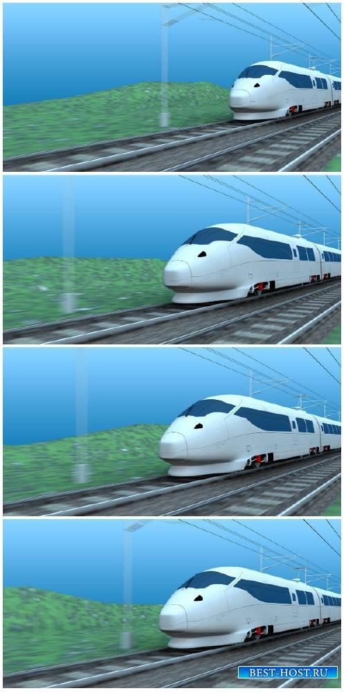 Video footage High speed rail