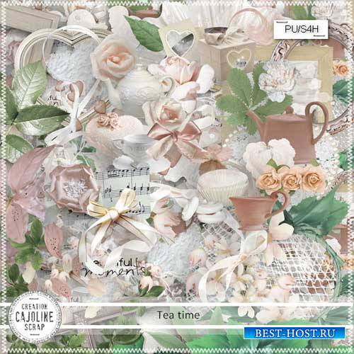 Романтический скрап-набор - Tea time