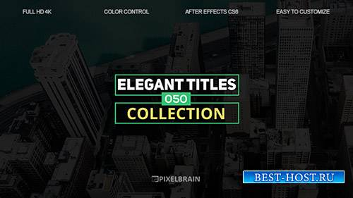 Элегантные Названия 19602798 - Project for After Effects (Videohive)