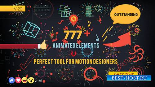 Элементы Формы V2.0 - Project for After Effects (Videohive)