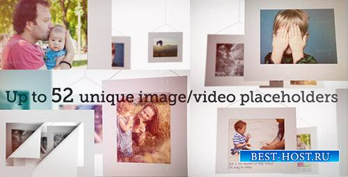 Белые Кадры Слайд-Шоу - Project for After Effects (Videohive)
