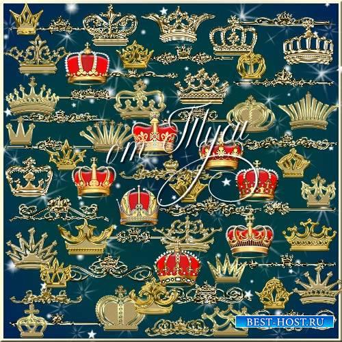 Короны и королевские разделители - Элементы дизайна