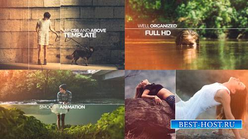 Элегантная Открывалка Слайд-Шоу - Project for After Effects (Videohive)