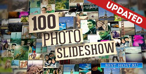 100 фото-слайд-шоу - Project for After Effects (UPTADE 20 May 16) (Videohive)