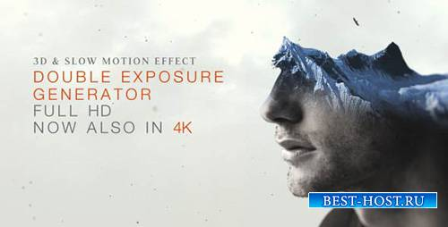 Генератор Двойной Экспозиции V2 - Project for After Effects (Videohive)