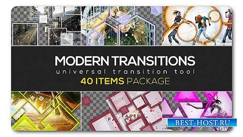 Современный переход пакета | 40 элементов - Project for After Effects (Vide ...