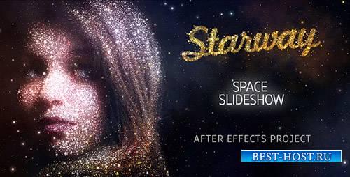 Звездный Путь Космического Слайдшоу - Project for After Effects (Videohive)