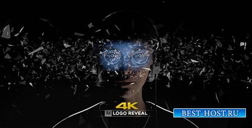 Виртуальная реальность логотипом 4К показать - Project for After Effects (V ...