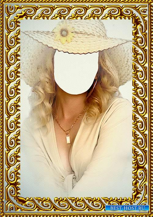 Скачать шаблоны портрет для фотошопа