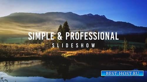 Простой профессиональный слайд-шоу - After Effects Templates