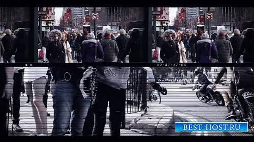 Привлекательный сбой Слайд-шоу - Шаблоны After Effects