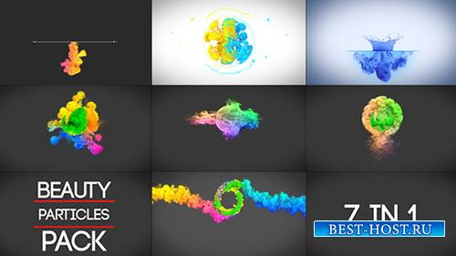 Пакет логотипов Beauty Particles - Project for After Effects (Videohive)